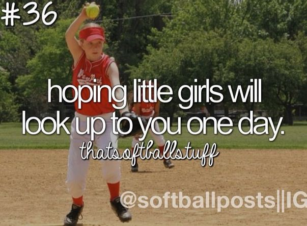 I do this often...especially since I am the oldest of 4 girls that LOVE softball!!:)