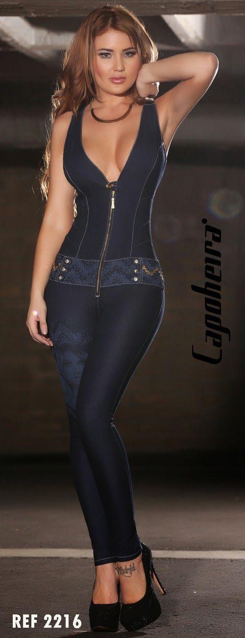 ,: Nueva colocción de enterizo jeans colombiano.