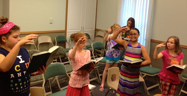 Dawn's LDS Activity Days: Take the Lead! Learning to Lead the Music
