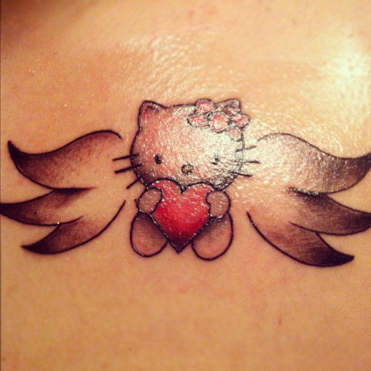 Hello kitty tattoo... && shall be getting(: