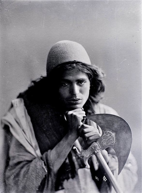 #OldPhoto of #Dervish from the #Qajar Period, #Iran  #Islam #Sufism