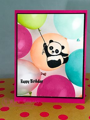 Happy Birthday Gorgeous Photopolymer Stamp Set, Party Pandas Stamp Set, Picture Perfect Party Designer Series Paper Stack, Berry Burst Cardstock, Basic Black Cardstock, Whisper White Cardstock, Whisper White Medium Envelopes, Berry Burst Classic Stampin' Pad, Lemon Lime Twist Classic Stampin' Pad, Paper Snips, Multipurpose Liquid Glue, Snail Adhesive, Stampin' Dimensionals, Stampin 'Up!, #rickadkins, #rckinsmonstudio, Saleabration, 2018 Occasions Catalog, Birthday Card, Birthday Balloons