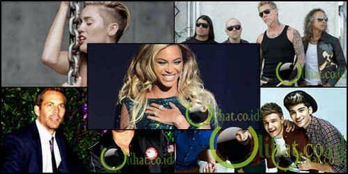 10 Selebritis yang Masuk Guinness Book of Record 2015