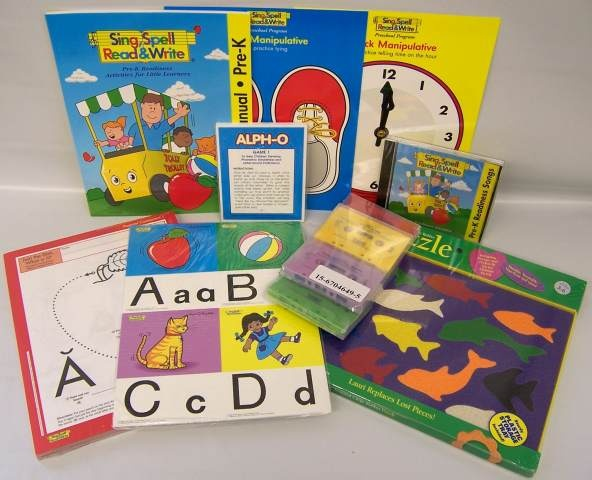 Sing spell read and write preschool