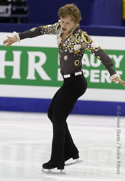 Alexander Majorov  worlds 2012, SP