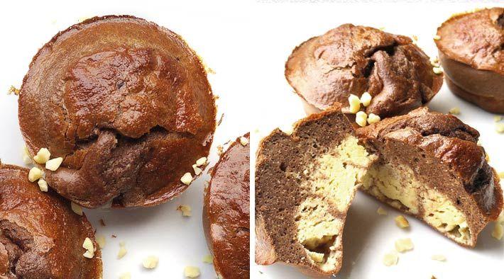Low-Carb Schoko-Protein Quark-Muffins
