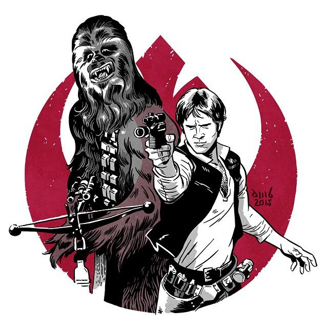 Han Solo & Chewbacca | Star Wars