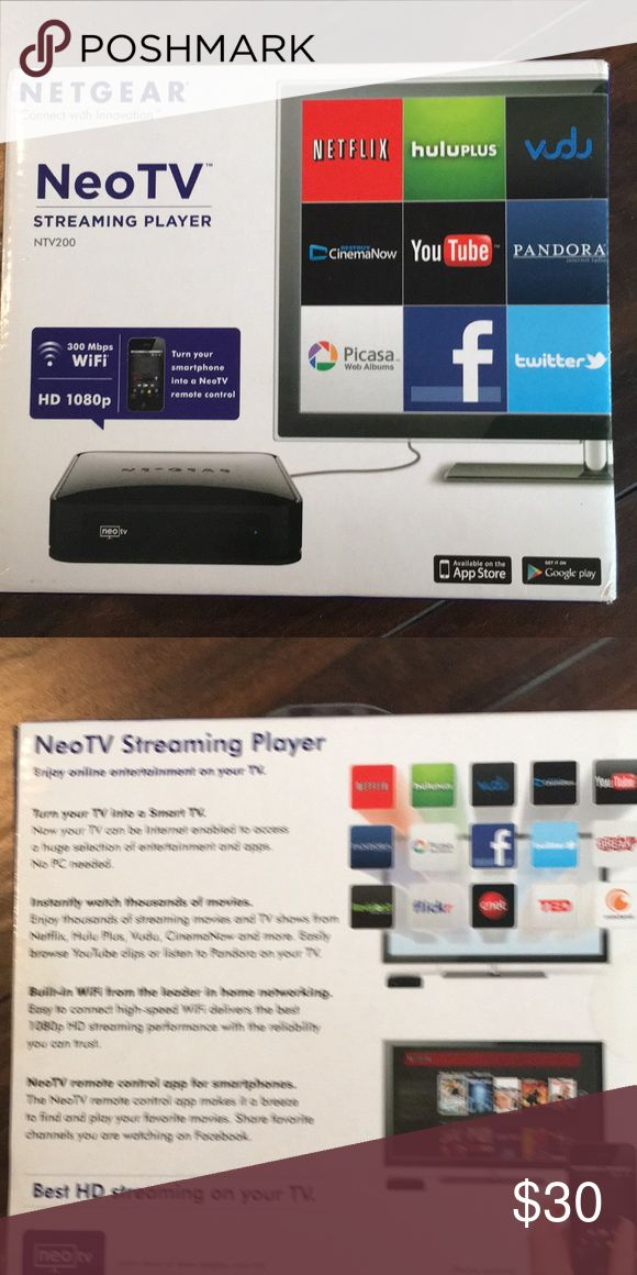 Netgear Neo TV Make your tv into a smart tv Accessories