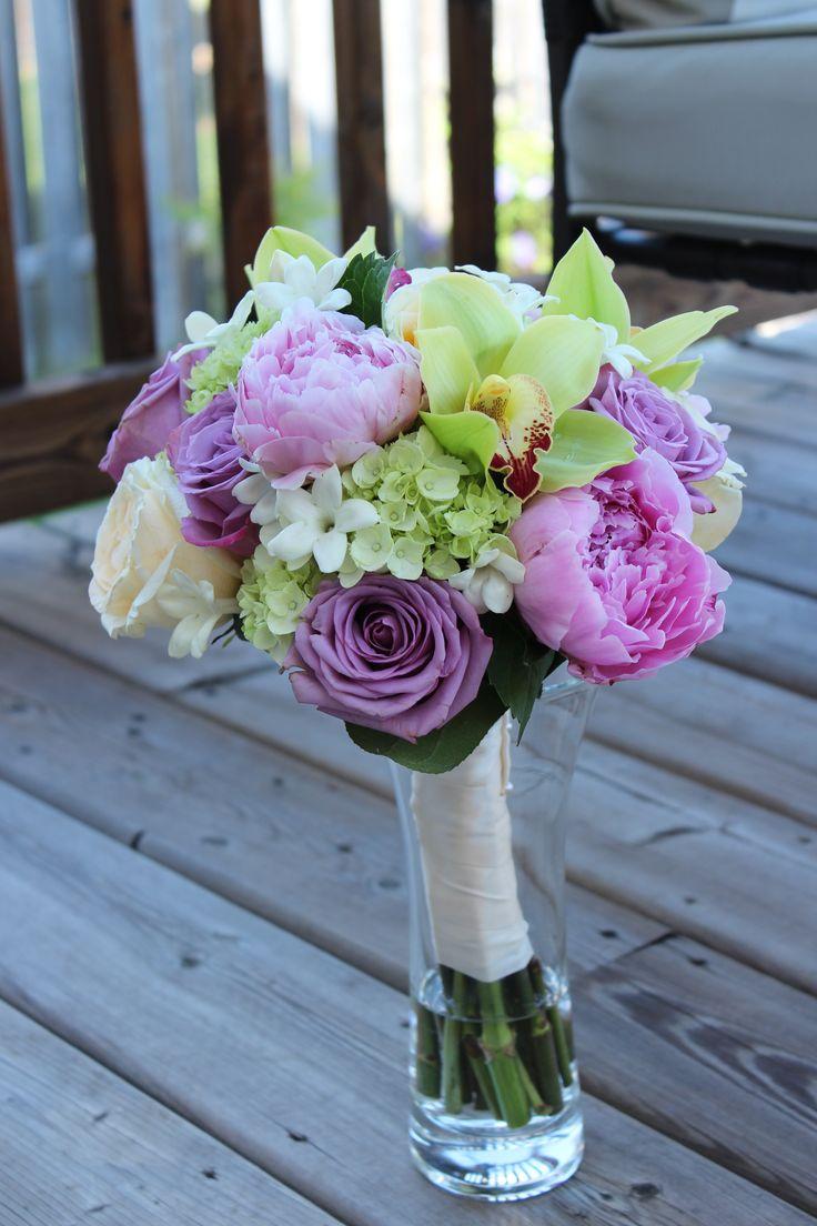 Bridal bouquet for a wedding.