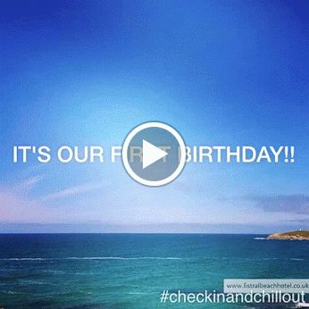 IT's OUR BIRTHDAY!! Highlights of our first year from instagram @fistralbeachhotel #checkinandchillout