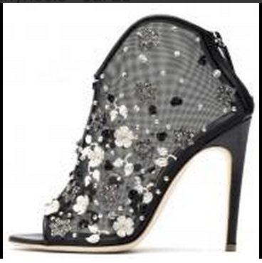 We love a bit of glitz. These Rupert Sanderson bootees are just fabulous