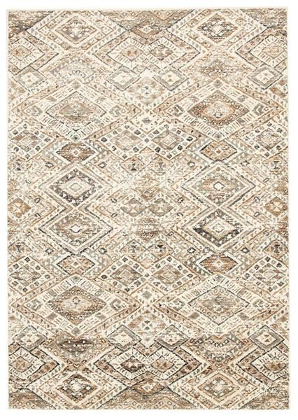 The Caliente 324 Beige Earth Multi Coloured Patterned Traditional Rug could be just the rug for you if you are after a neutral, earthy coloured rug with traditional motifs: