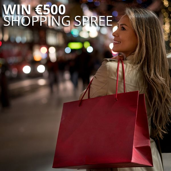 WIN €500 Shopping Spree just in time for Christmas! 🎅  ENTER HERE: bit.ly/WINSpree