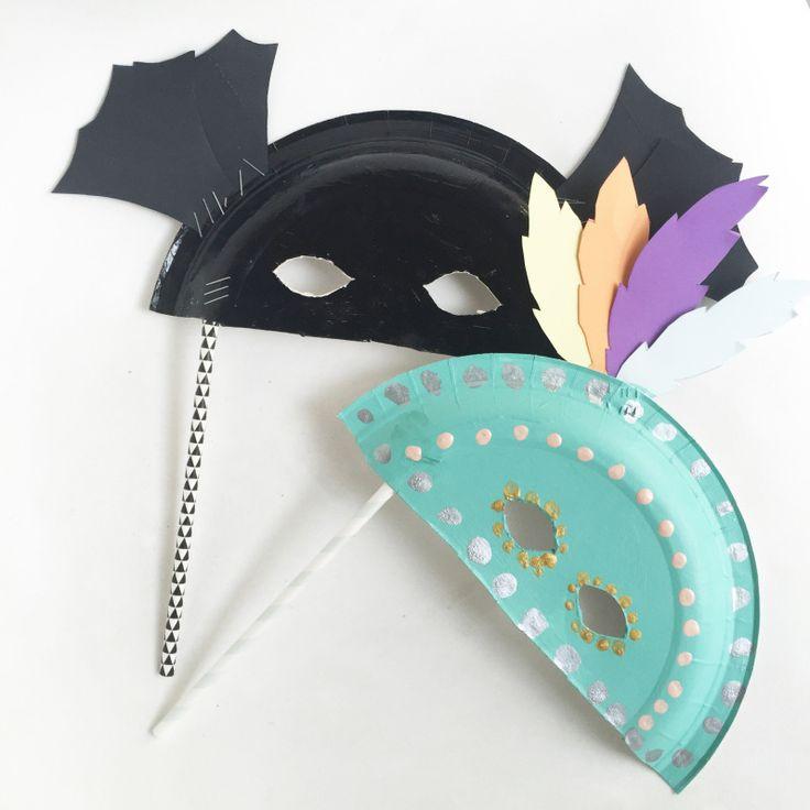 les 25 meilleures id es de la cat gorie masques assiette en papier en exclusivit sur pinterest. Black Bedroom Furniture Sets. Home Design Ideas
