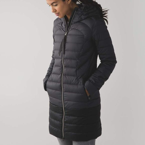 Lululemon 1x A Lady Parka Black long parka jacket! Never worn and in perfect condition! lululemon athletica Jackets & Coats Puffers