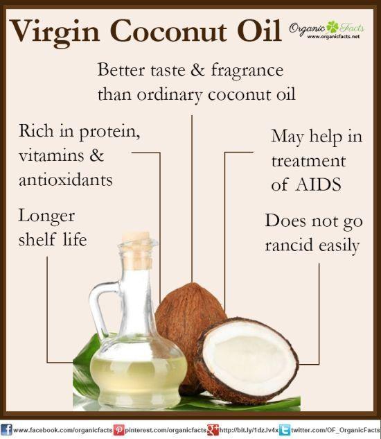 Virgin coconut oil has very nice taste and fragrance than ordinary coconut oil