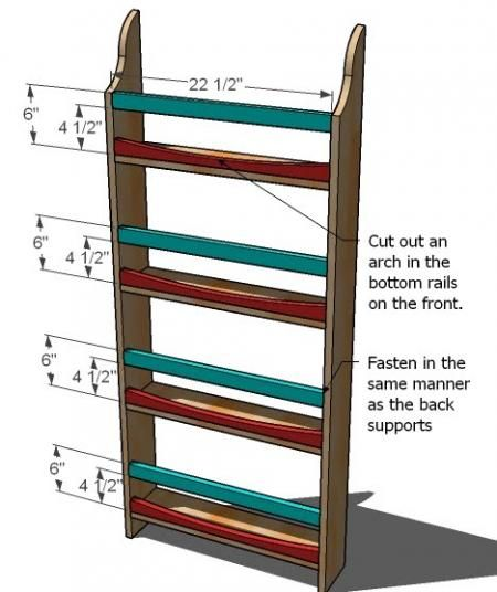 Diy Pantry Door Spice Rack Plans: WoodWorking Projects & Plans