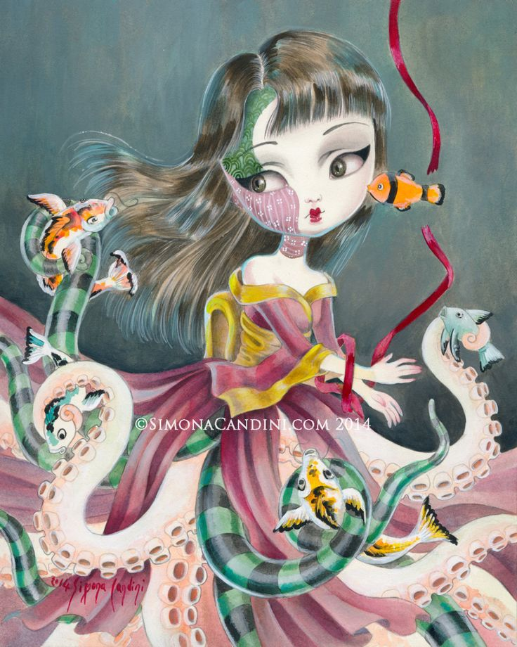 Kiyoko's Rite of Passage LIMITED EDITION print by SimonaCandini