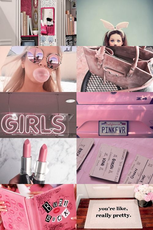 """Edgy wallpaper · live wallpaper iphone. Mean Girls Aesthetic ; requested by @domolishious """"""""On"""