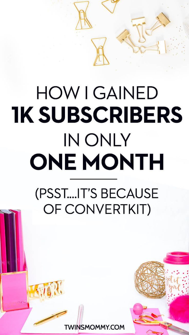 I can't believe how fast I grew my email list in only 1 month! When I switched from MailChimp to ConvertKit within days I was growing and growing my list.email marketing | email service providers | email list building | mailerlite | active campaign |