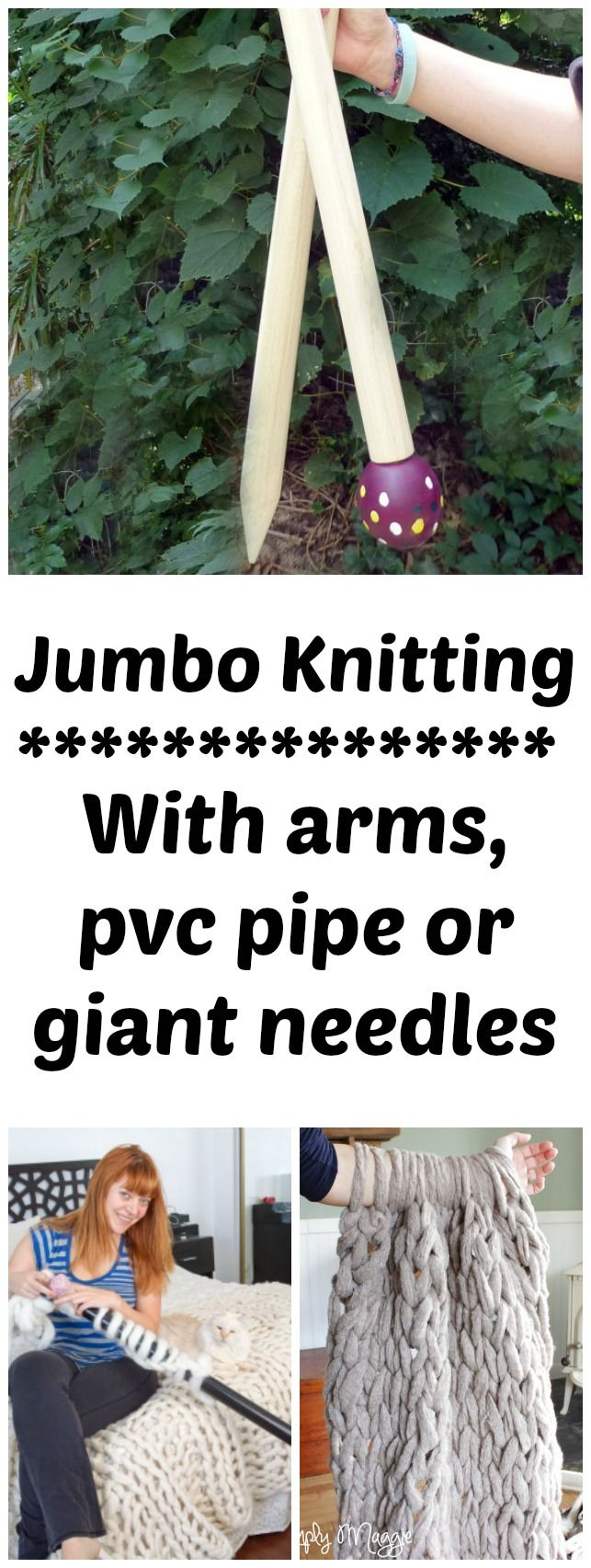 Knitting With Your Arms Instructions : Best sewing knitting images on pinterest