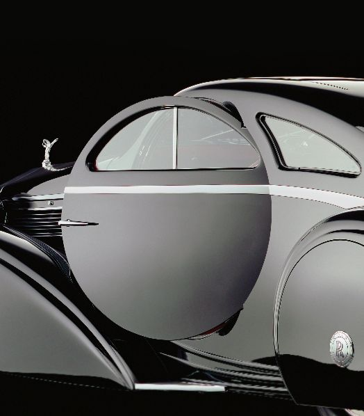 ein-bleistift-und-radiergummi:  The Round Door Rolls – 1925 Rolls-Royce Phantom I Jonckheere Coupe.