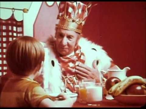 """My Channel Video Manager Subscriptions Inbox Settings Sign out Loading...   King Vitaman commercial w/ George Mann 1972 """"Have Breakfast with the King!"""""""