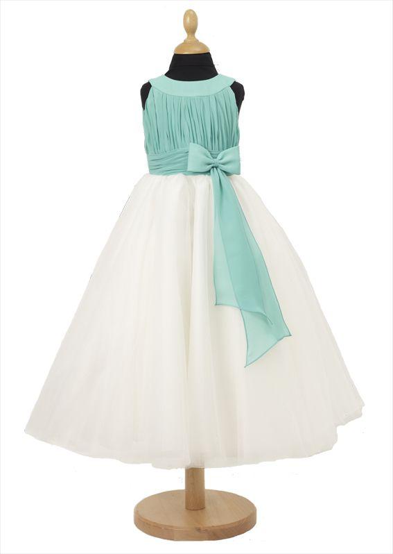 FK051 FLOWERGIRL DRESS