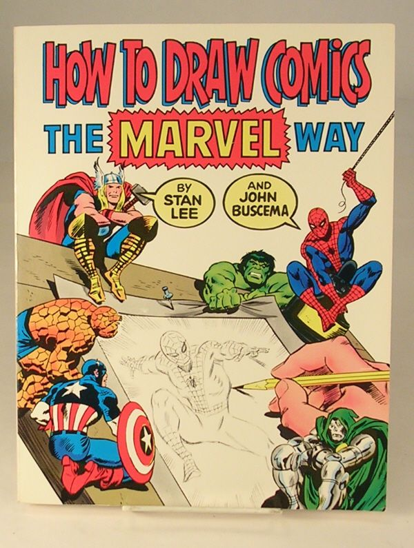 how to draw comics the marvel way vhs