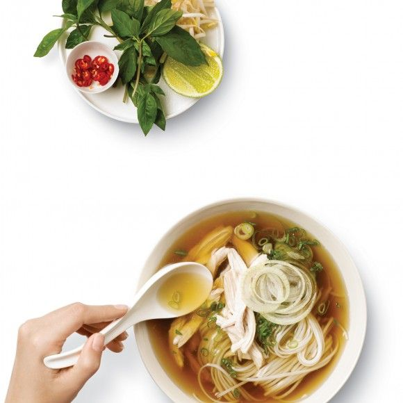 Collect this Pho Ga (Vietnamese Chicken Noodle Soup) recipe by Breville. MYFOODBOOK.COM.AU | MAKE FREE COOKBOOKS