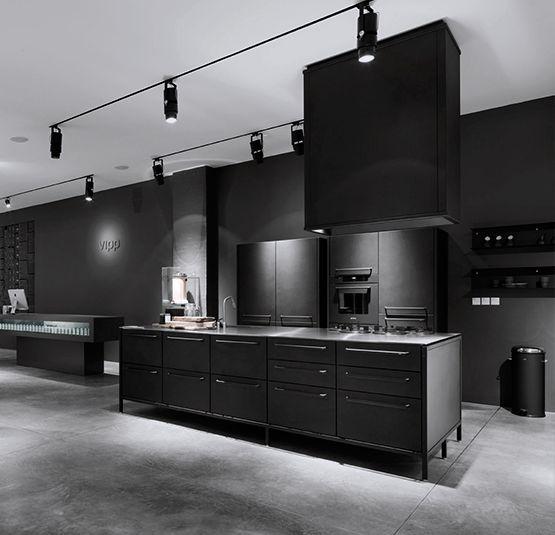 kitchen design black 68 Images On The Vipp Kitchen