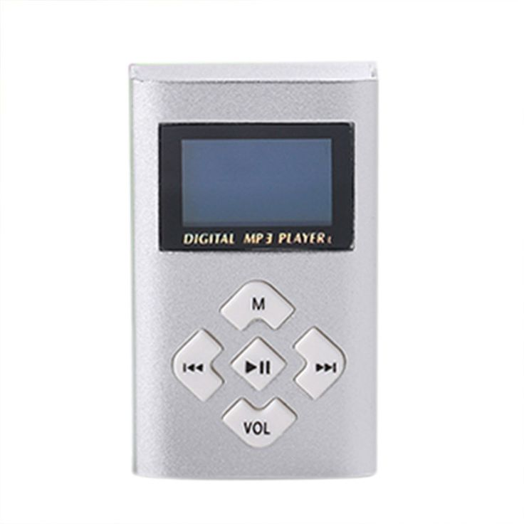 USB Mini MP3 Player LCD Screen Support 8GB Micro SD TF Card Reproductor de musica Professional. Click visit to buy