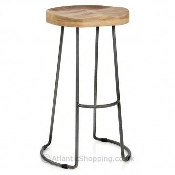 132 Best Images About At The Bar On Pinterest Industrial Bar Stools Chairs And Industrial