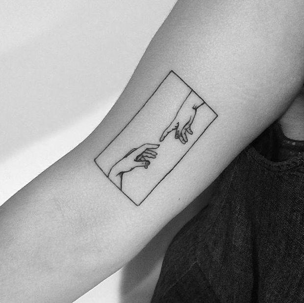 Yi Stropky #tattoo blackwork