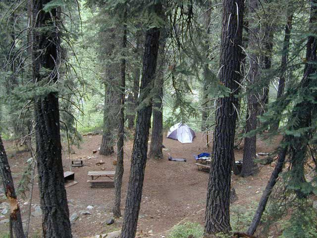 Cold Springs Campgrounds--Sequoia NP Named by Sunset one of best Sierran campgrounds.