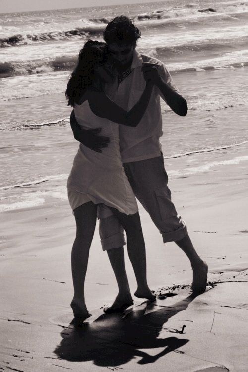 ♥ Love is dancing to the music of the sea, and the song in your heart!