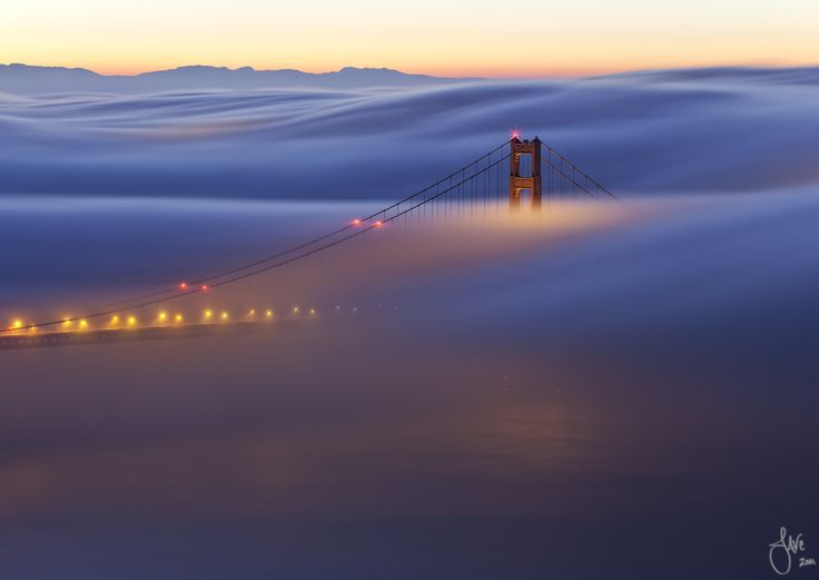 "Golden Gate Bridge ""Red Dawn"": Favorite Places, Golden Gate Bridge, Bridges Red, American Photo, Golden Gates Bridges, Random Beautiful, Beautiful Places, Photo Mag, San Francisco"