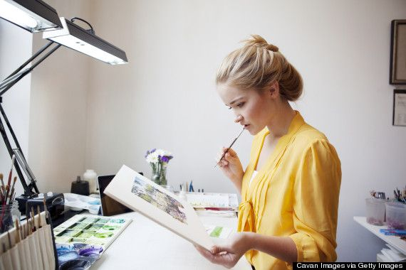 """""""Women don't paint very well. It's a fact."""""""