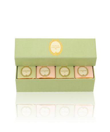 Ladurée's box of chocolates are simply divine