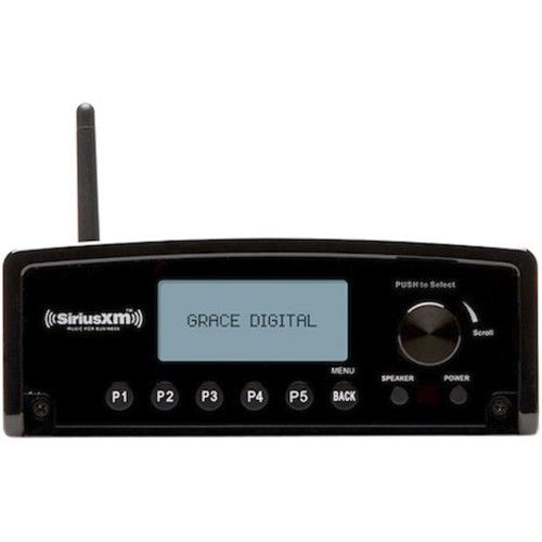Grace Digital - Internet Radio - Wireless LAN - Black