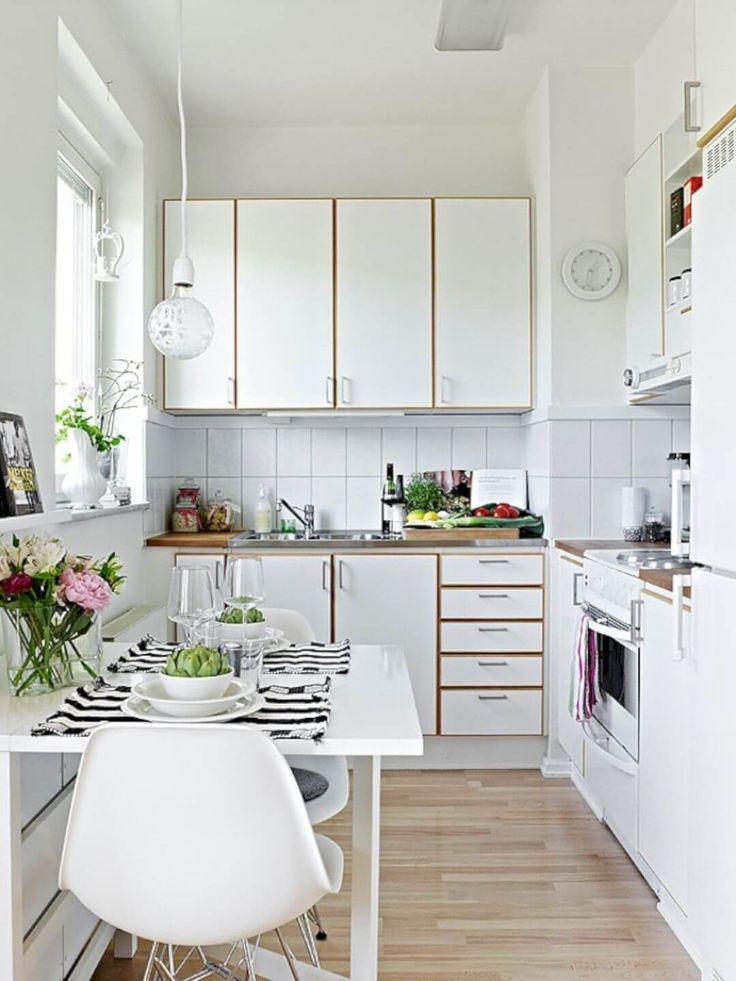 Die besten 25+ Very small kitchen design Ideen auf Pinterest - kompakte kuche snaidero board