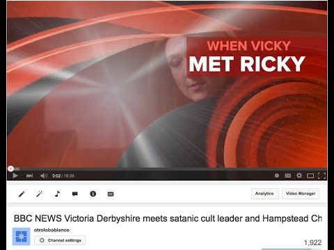 BBC NEWS Victoria Derbyshire meets satanic cult leader and Hampstead Chi...