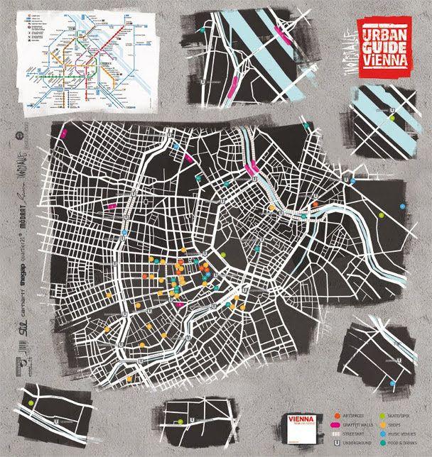 66 best design maps images on pinterest city maps for Grafik design praktikum wien
