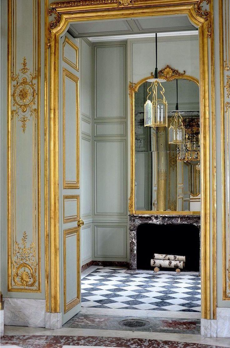 """lesliaisonsdemarieantoinette: """" LES LIAISONS DE MARIE ANTOINETTE   Petit Trianon - Pavillon français - Antichambre   Starus, Wikipedia """""""
