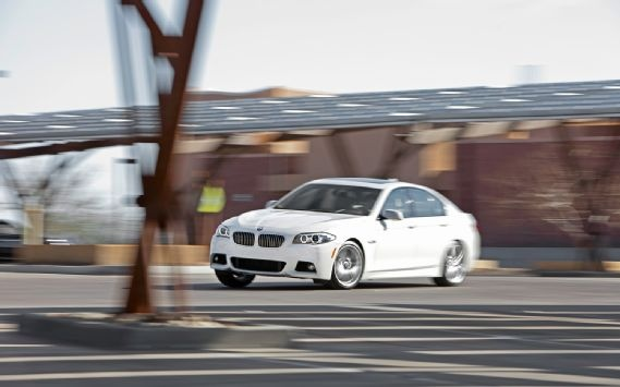 We take the BMW 535i out for a test flog.