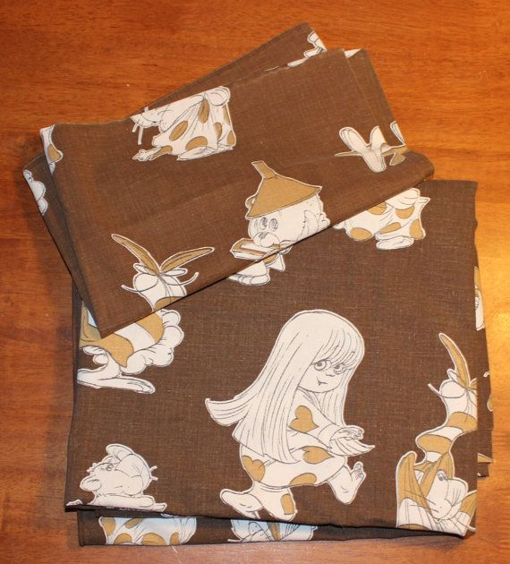 Wonderful vintage 70s Duvet cover and by ThreeCrownsRetro on Etsy