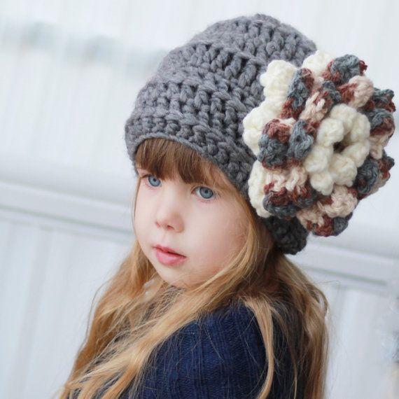 Crochet pattern Patron de crochet Ines Slouchy by TheEasyDesign