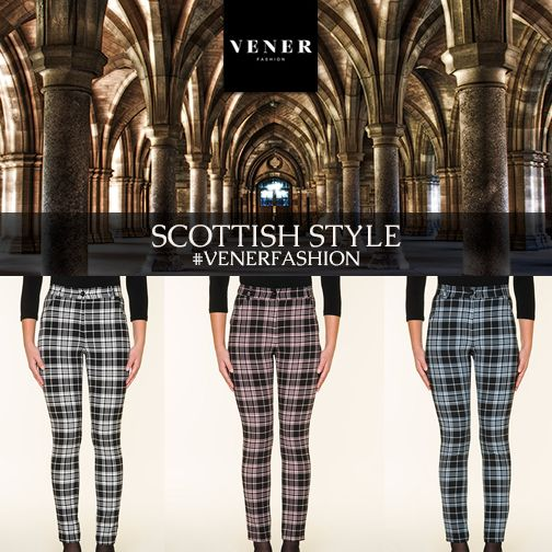 A line in a cloth is never wrong! It's there for a reason! VENER scottish style pants!