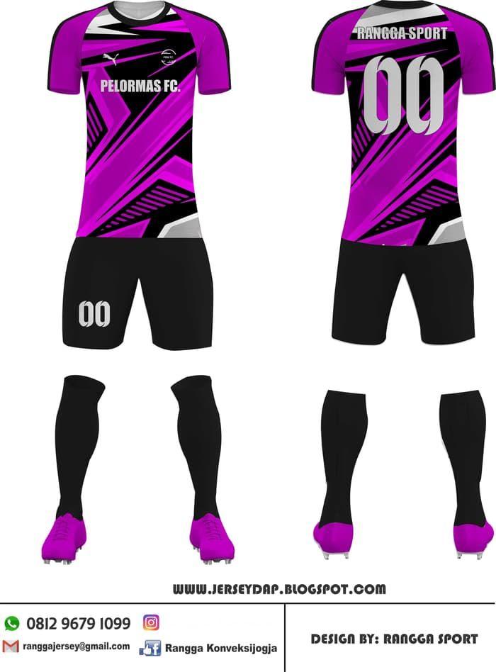 Desain Baju Futsal Keren 2020