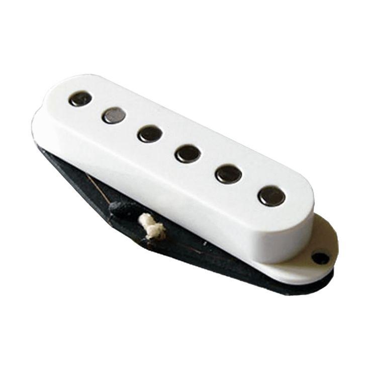 Bare Knuckle Stratocaster Pickup Cover Set - White
